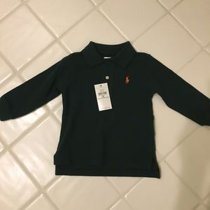 NEW Polo Ralph Lauren Long Sleeve Shirt (12M)